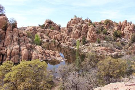Prescott AZ Granite Dells